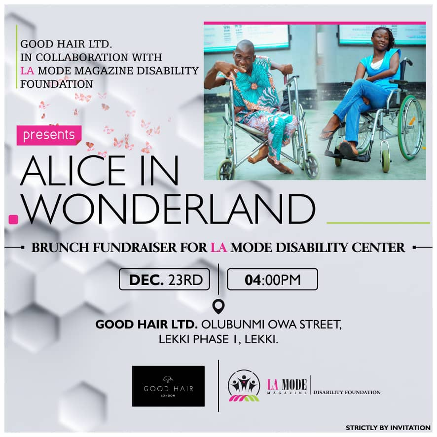 Good Hair LTD In Partnership With La Mode Magazine Disability Foundation Set To Organize a Fundraising Event